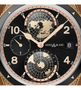 Montblanc 1858 Geosphere Limited Edition - 1858 pièces