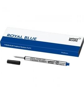 1 recharge pour Rollerball sans Capuchon (M) Royal Blue