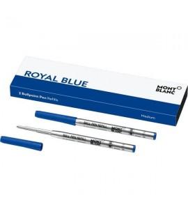2 recharges de stylo bille (M) Royal Blue