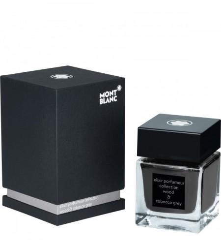 Flacon d'encre Elixir Parfumeur, Wood & Tobacco Grey, parfum bois et tabac, gris, 50 ml