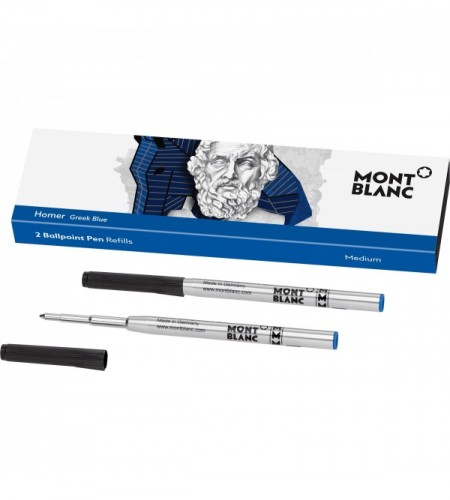 2 recharges pour stylo bille Writers Edition, Homage to Homer