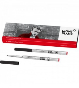 2 recharges pour stylo bille Great Characters, James Dean
